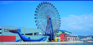 姪浜からの王道観光スポット